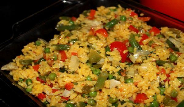Как приготовить паэлью вегетарианскую