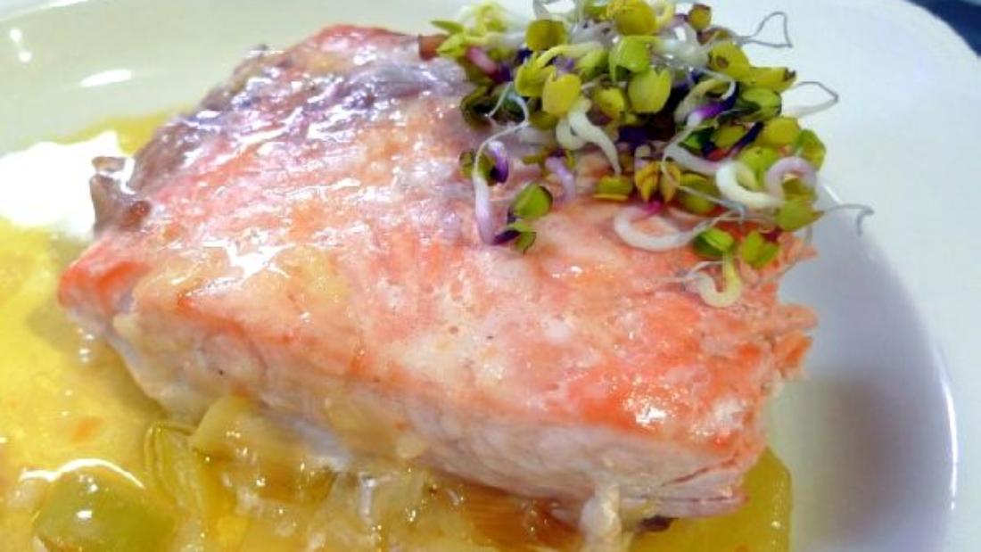 новогодний рецепт из лосося
