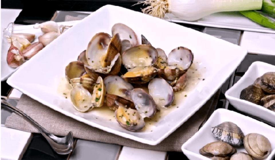 рецепт для моллюсков